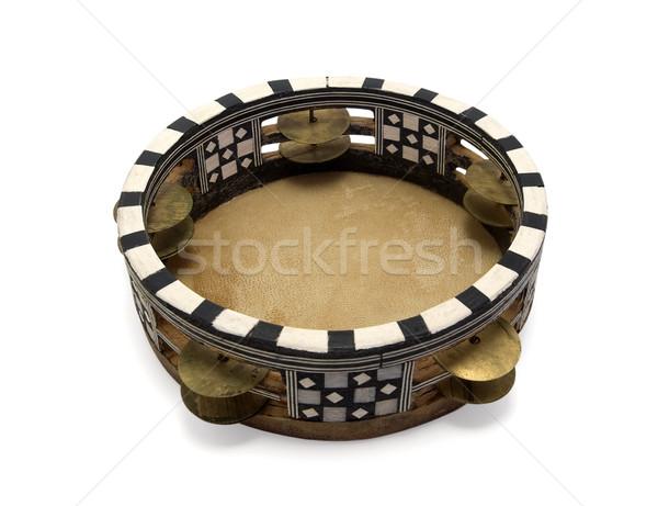Música madera danza marco anillo patrón Foto stock © BSANI
