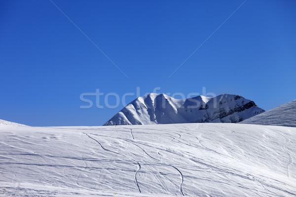 Off-piste slope Stock photo © BSANI