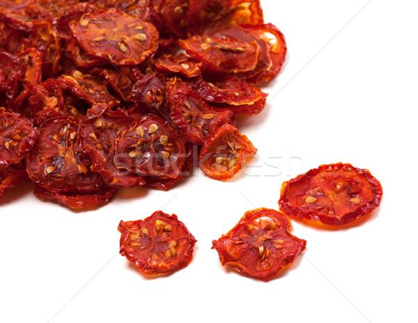Dried slices of ripe tomato Stock photo © BSANI