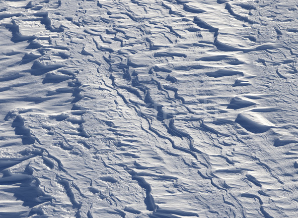 Off-piste slope after snowfall in ski resort Stock photo © BSANI