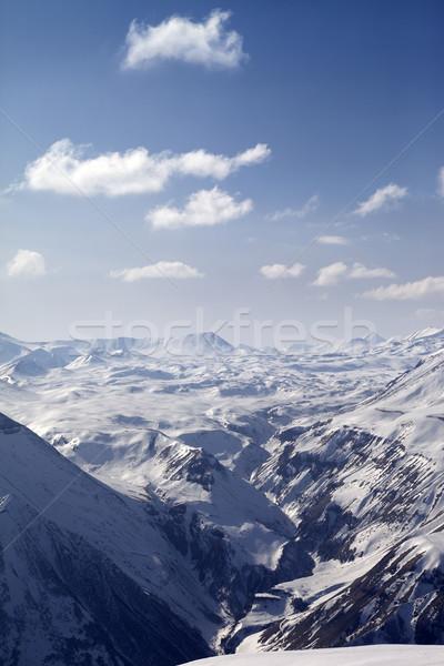 снега плато Кавказ гор Грузия мнение Сток-фото © BSANI