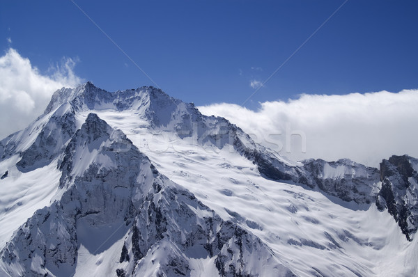 Glacier. Caucasus Mountains Stock photo © BSANI