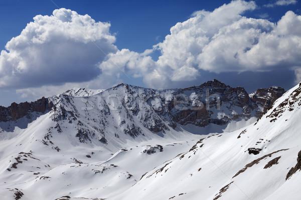 Mountains in snow  Stock photo © BSANI