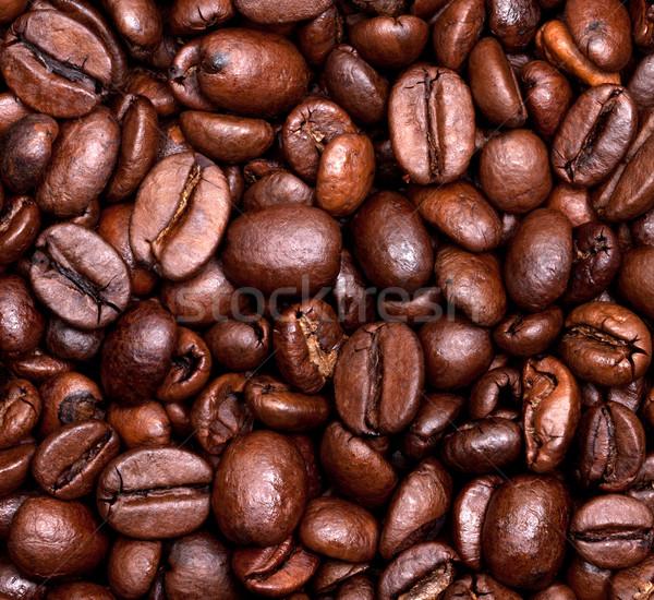 кофе кофе фон темно шаблон Сток-фото © BSANI