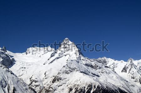 High Mountains. Caucasus Stock photo © BSANI