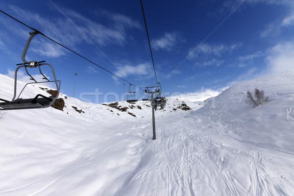 冬 山 コーカサス グルジア スキー リゾート ストックフォト © BSANI