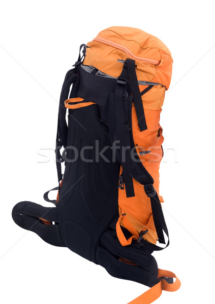 Orange travel backpack Stock photo © BSANI