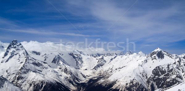 Panorama Mountains Stock photo © BSANI
