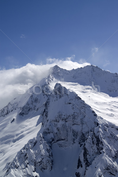 High mountains Stock photo © BSANI