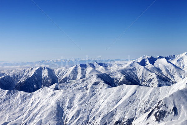 Winter mountains at sun day Stock photo © BSANI