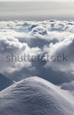 Winter mountains and storm sky Stock photo © BSANI