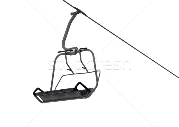 Chair-lift isolated on white background  Stock photo © BSANI