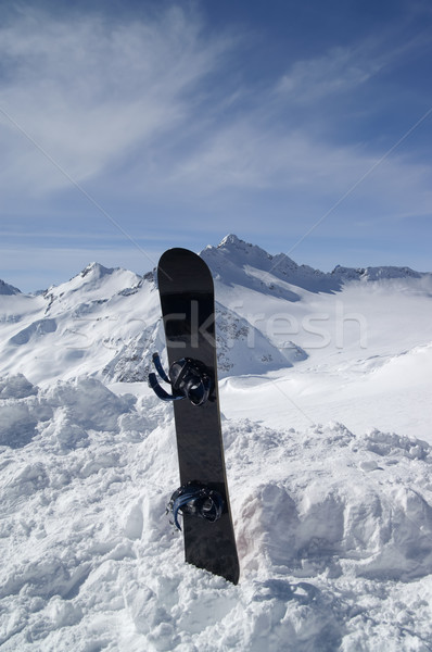 Snowboard Stock photo © BSANI