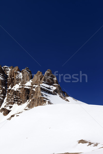 Montanhas bom primavera dia Turquia central Foto stock © BSANI