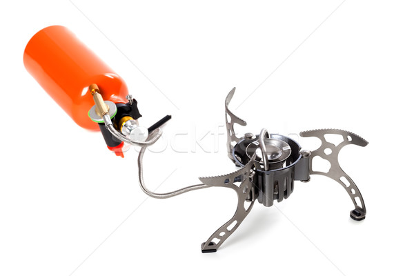 Camping multi fuel stove Stock photo © BSANI