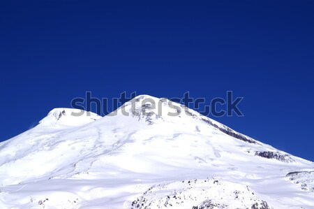 Stock photo: Winter snowy mountains in nice sun day