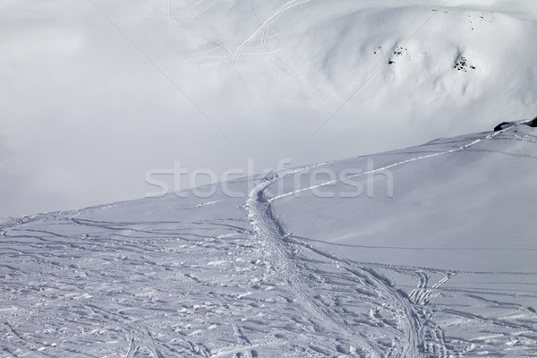 Off-piste slope with new-fallen snow Stock photo © BSANI