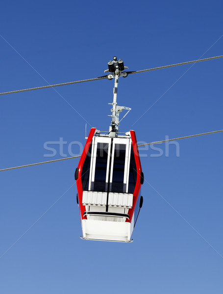 Gondola lift and blue sky Stock photo © BSANI