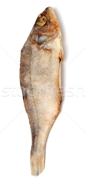 Dried roach isolated on white background Stock photo © BSANI