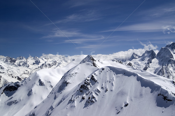 Caucasus Mountains Stock photo © BSANI