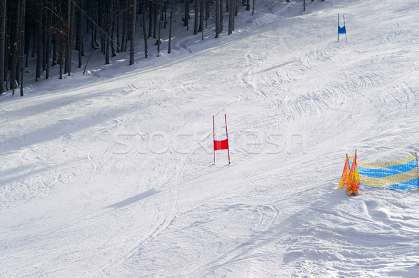 Ski slope Stock photo © BSANI