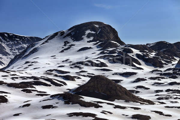 Rocks in snow Stock photo © BSANI