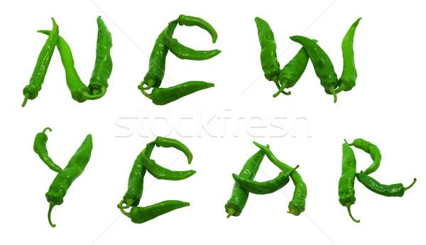 New year text Stock photo © BSANI