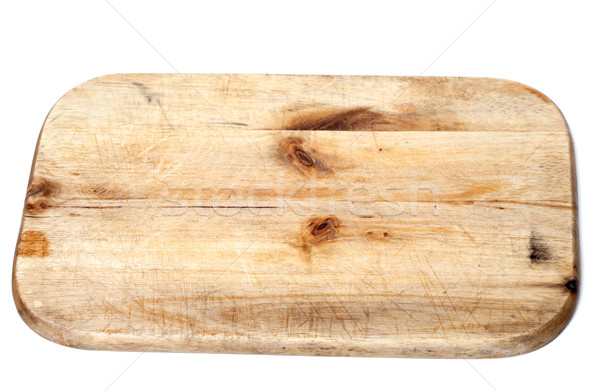 Old wooden kitchen board Stock photo © BSANI