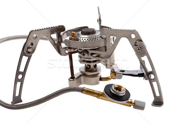 Camping gas stove Stock photo © BSANI