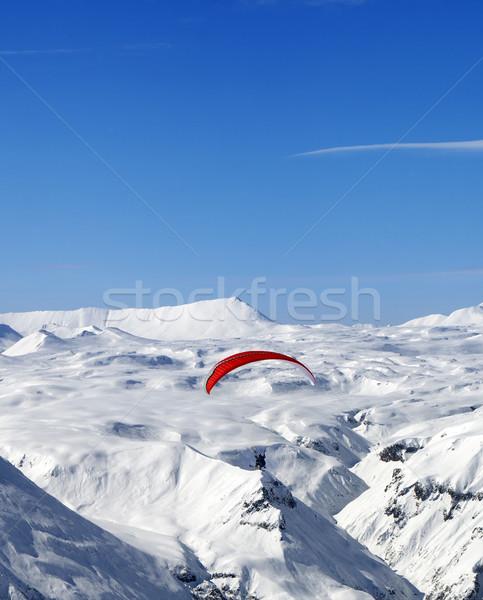 Cielo cáucaso montanas agradable sol día Foto stock © BSANI