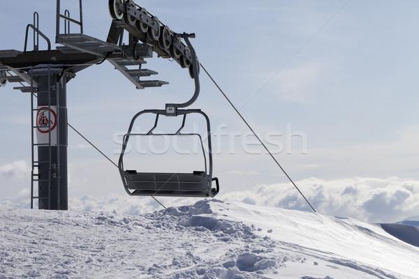 Ropeway on ski resort Stock photo © BSANI