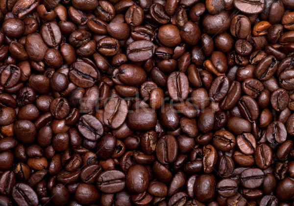 Coffee beans background Stock photo © BSANI