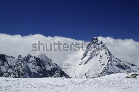 View from the ski slope Stock photo © BSANI