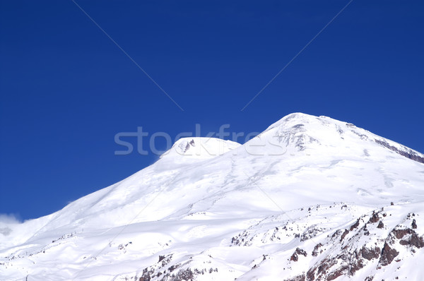 Caucasus Mountains. Elbrus Stock photo © BSANI