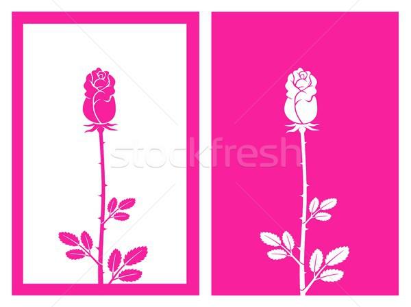 Bud vettore isolato fiore design Foto d'archivio © bspsupanut