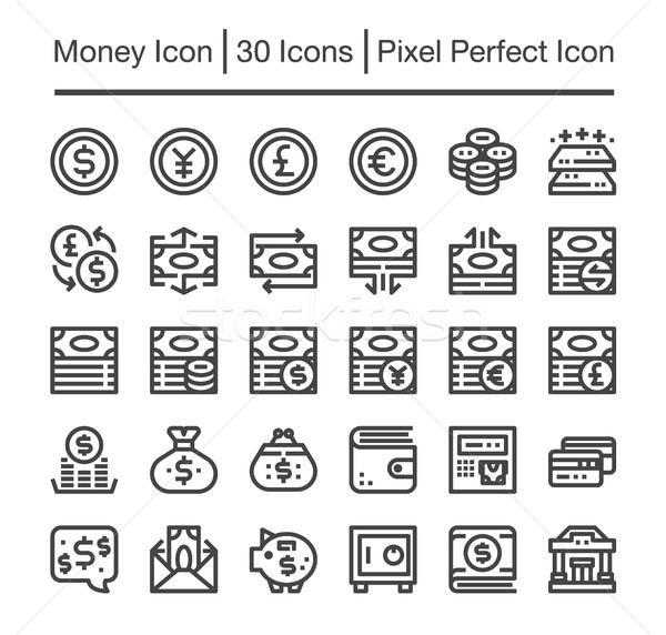 money icon Stock photo © bspsupanut