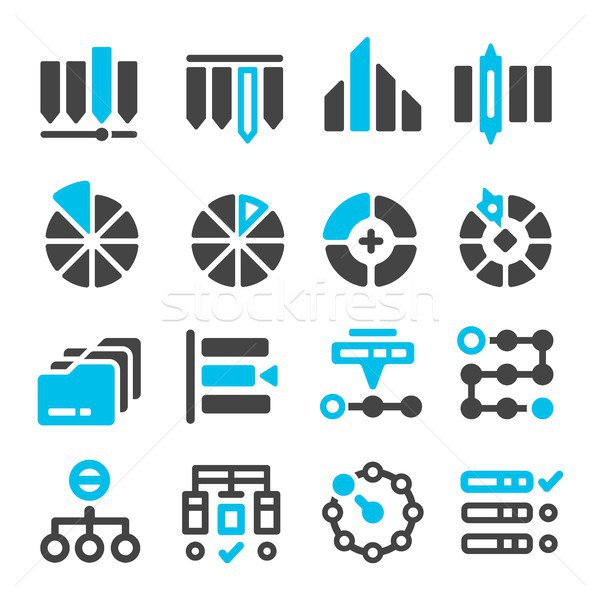 data,category management icon Stock photo © bspsupanut