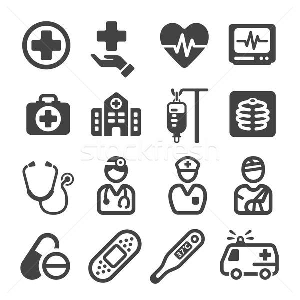 Stock photo: medical icon