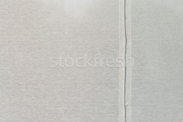 Beyaz kumaş doku ışık bez tekstil Stok fotoğraf © bubutu