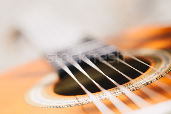 моста макроса мелкий гитаре Сток-фото © bubutu