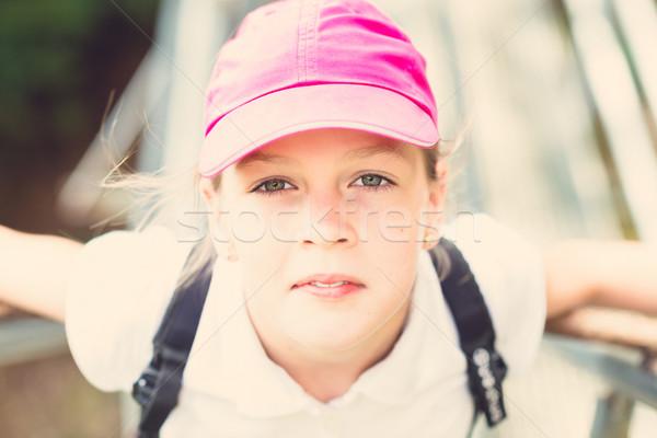 portrait of a beautiful young girl  Stock photo © bubutu