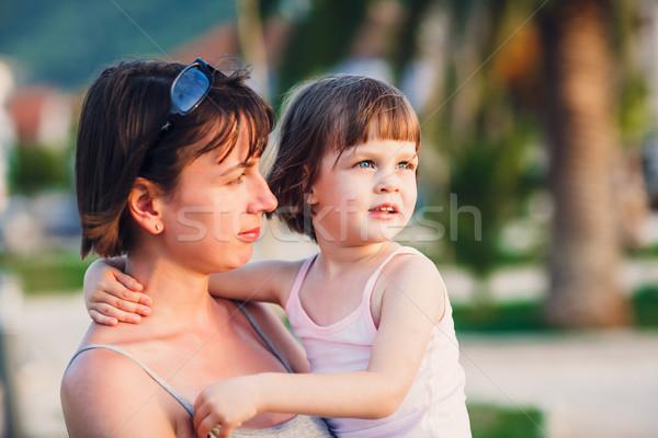 матери дочь ходьбы семьи Сток-фото © bubutu