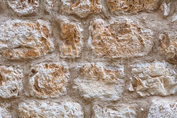 Taş duvar doku kumtaşı duvar taş mimari Stok fotoğraf © bubutu