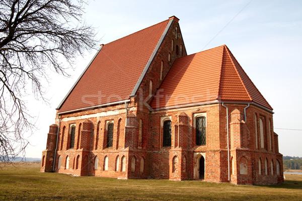 Early Gothic church Stock photo © Bumerizz