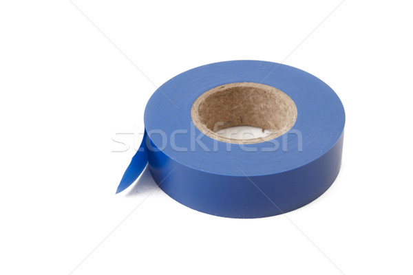 Blue electrical insulating tape Stock photo © Bumerizz