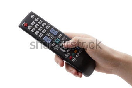 Arm with remote control Stock photo © Bumerizz
