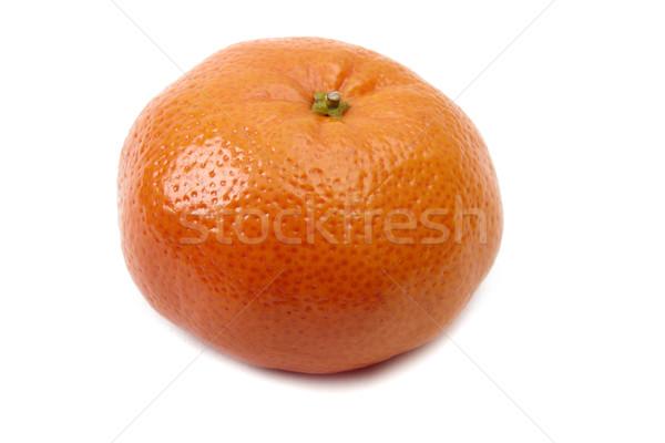 мандарин изолированный белый оранжевый крупным планом органический Сток-фото © Bumerizz