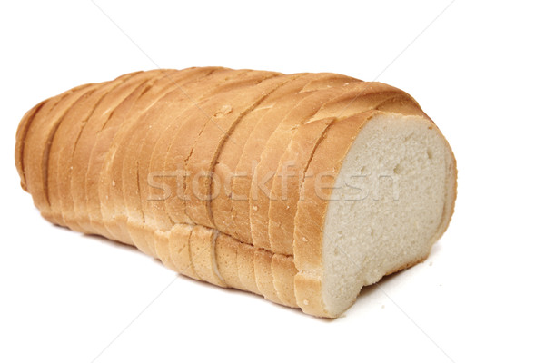 Fransız ekmeği yalıtılmış beyaz Stok fotoğraf © Bumerizz