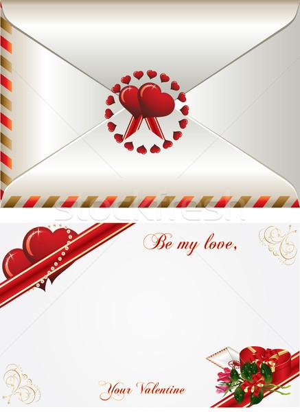любви карт ковша роз Сток-фото © Bumerizz
