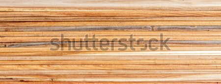 Stack of wooden  Stock photo © Bunwit
